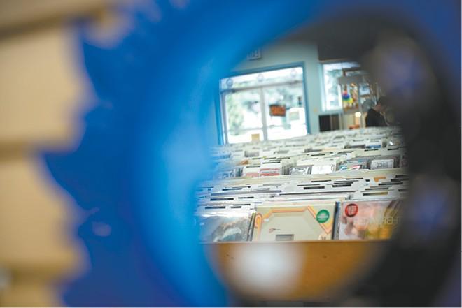 The inventory at Coeur d'Alene's the Long Ear. - DEREK HARRISON