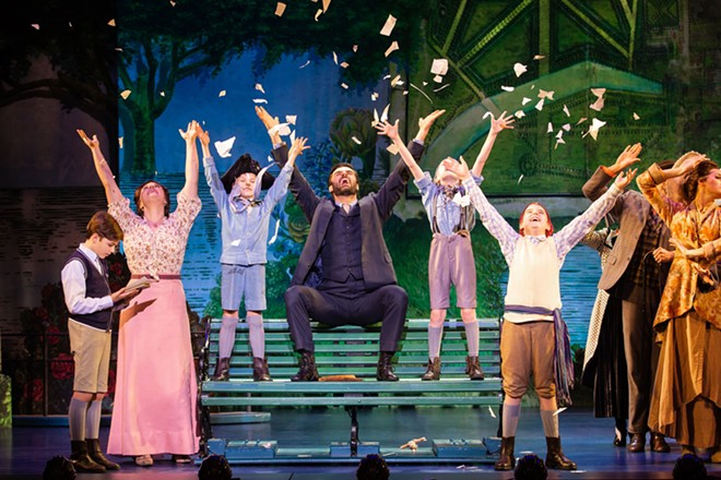 Finding Neverland runs at the FIC through Sunday.