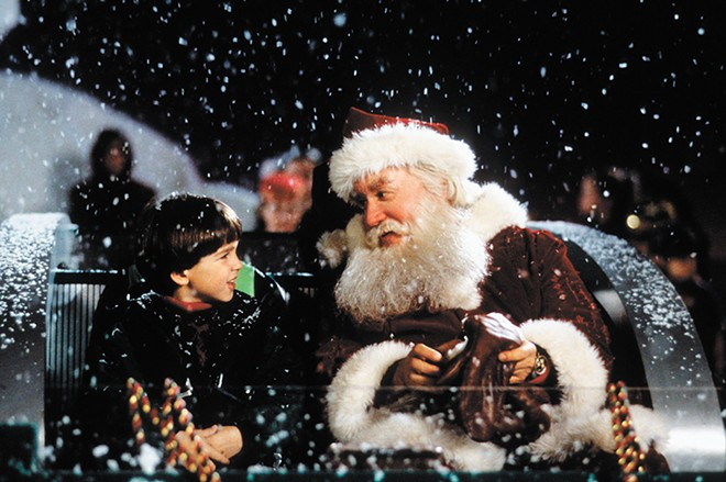 Believe in Santa's magic like kid actor Eric Lloyd.
