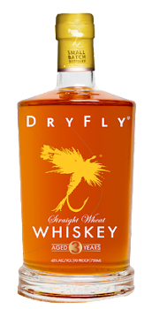 Dry Fly's new peated whiskey.