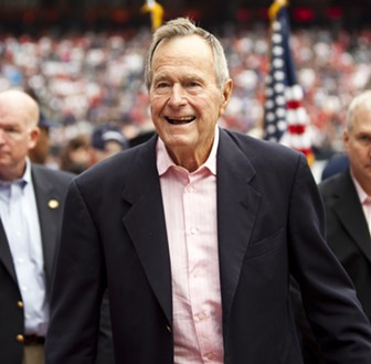President George H. W. Bush - AJ GRUEL PHOTO