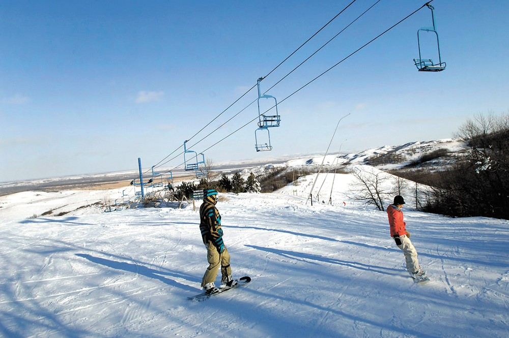 Some downhill runs stick with you for a lifetime. - HUFF HILLS SKI AREA PHOTO