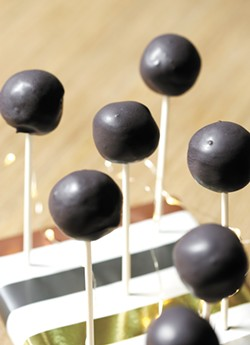Don't you dare make perfect cake pops. Lumpy = lovingly homemade. - YOUNG KWAK