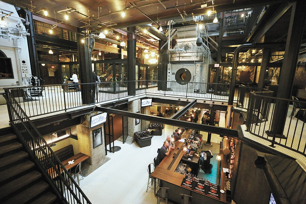 The Steam Plant reopened after a $4 million remodel. - YOUNG KWAK
