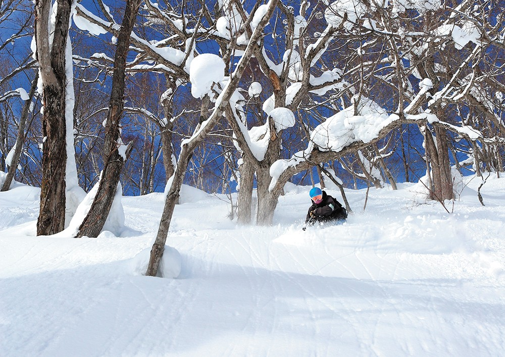 Turn after turn of over-the-head deep powder. - HOWARD STODDARD PHOTOS