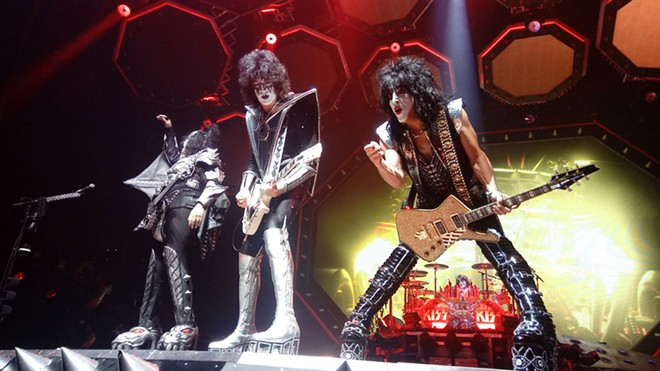 KISS still love it loud. - DAN NAILEN