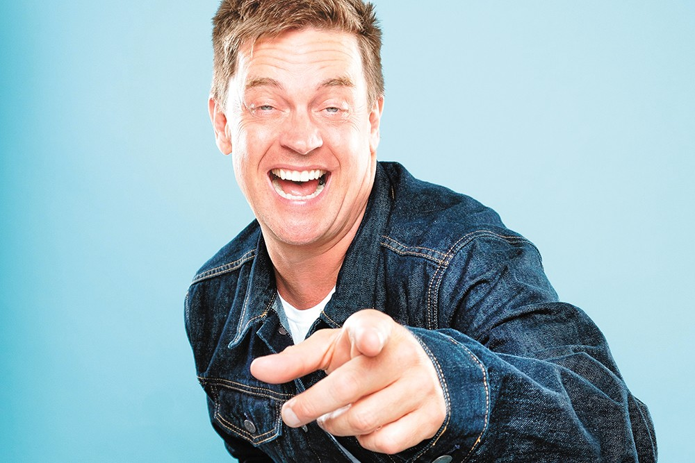 "Jim Breuer's ""dad jokes"" are actually funny. - PHIL PROVENCIO PHOTO"