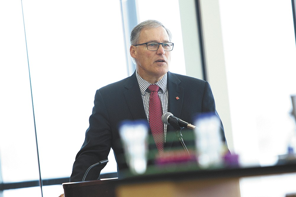 Gov. Jay Inslee has thrown in his hat in the ring. - YOUNG KWAK PHOTO