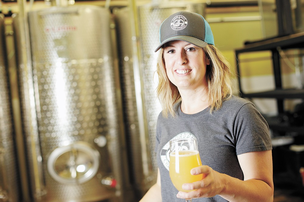 Coeur d'Alene Cider Co. owner Jill Morrison. - YOUNG KWAK PHOTO