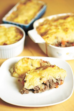 Shepherd's pie fillings are easily customizable. - YOUNG KWAK PHOTO