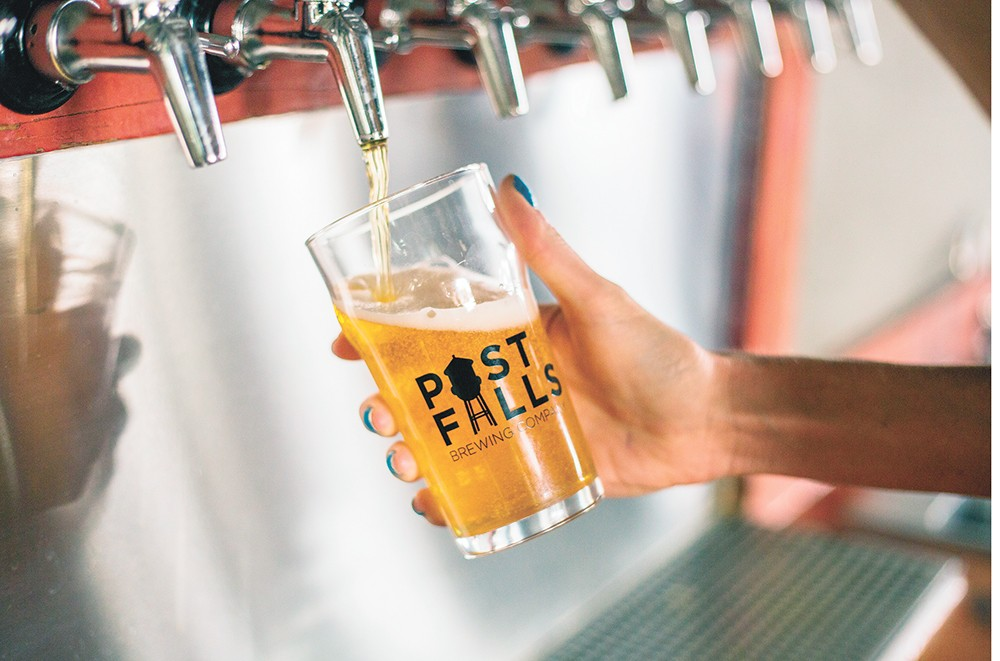 The brewery is celebrating its third anniversary next month. - DAN COUILLARD PHOTO