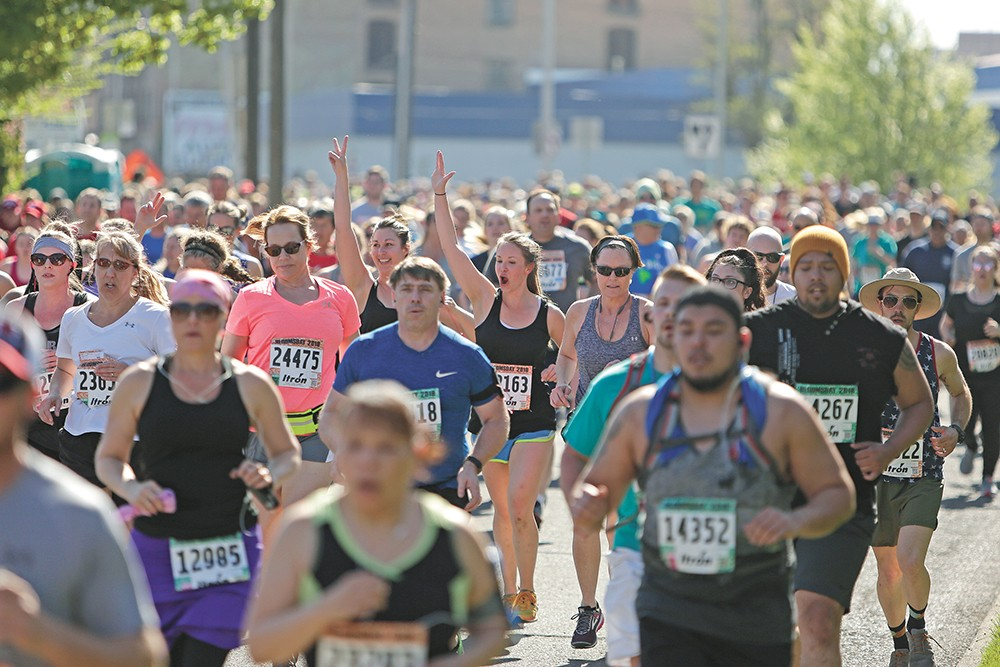 Bloomsday brings out tens of thousands of runners (and walkers) every May. - YOUNG KWAK PHOTO