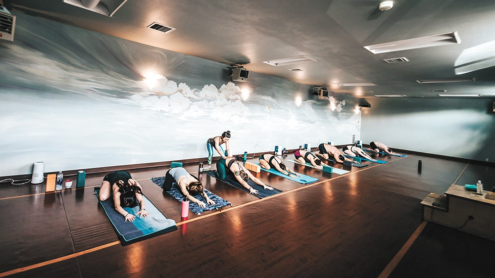 "As owner Lindsey Hoover says: ""Yoga is the glue that holds everything in life together."" - ALICIA HAUFF PHOTO"