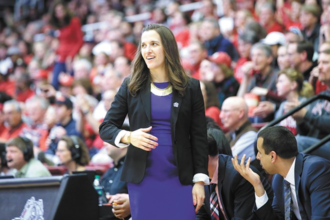 Gonzaga women's basketball coach Lisa Fortier. - GONZAGA UNIVERSITY PHOTO