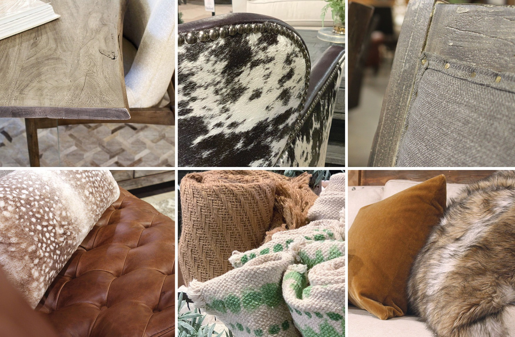 Textures were on display at the recent 