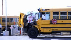 A propane-powered bus that will be unveiled next week in Spokane Public Schools - COURTESY SPOKANE PUBLIC SCHOOLS