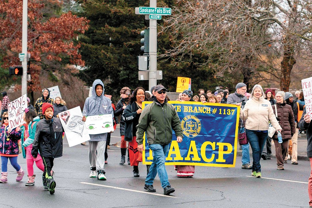 Spokane NAACP still has plenty to fight for. - SPOKANE NAACP PHOTO