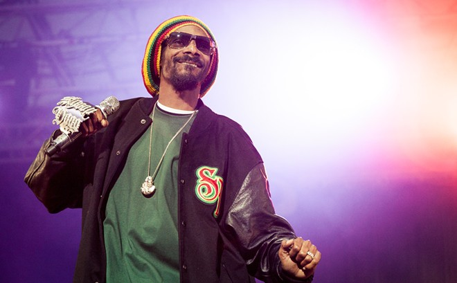 Snoop Dogg performs at Northern Quest on Aug. 17, supported by Warren G.