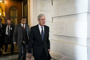 Robert Mueller, the special counsel investigating Russian interference in the 2016 election, at the Capitol in Washington, June 21, 2017. - DOUG MILLS/THE NEW YORK TIMES