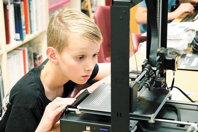 Kids can experience the amazing technology of 3D printing at St. George's School this summer.