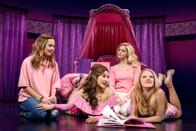 Mean Girls brings some Tina Fey vibe to the FIC stage next summer. - JOAN MARCUS