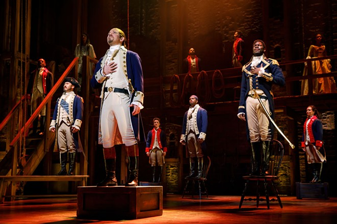 Hamilton fans, the wait is almost over! Sort of. - JOAN MARCUS
