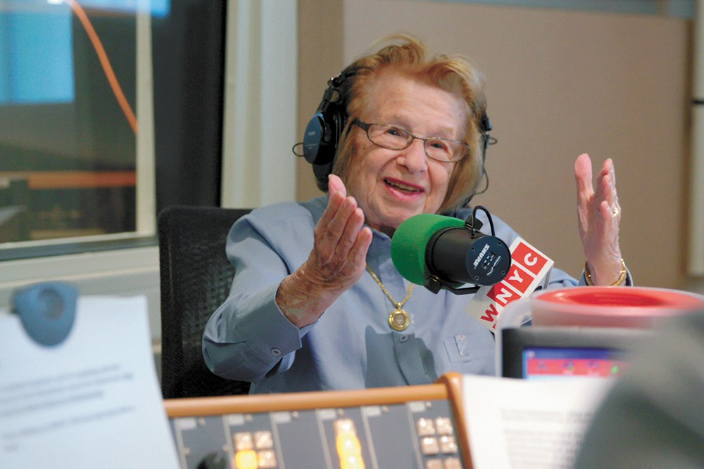 She might be nearing 91, but sex therapist Dr. Ruth Westheimer is still probably busier than you.