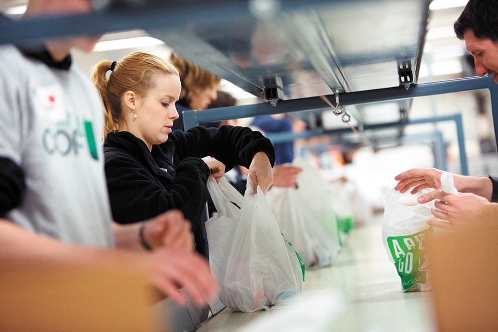Second Harvest puts grocery stores' surplus food to good use. - YOUNG KWAK PHOTO