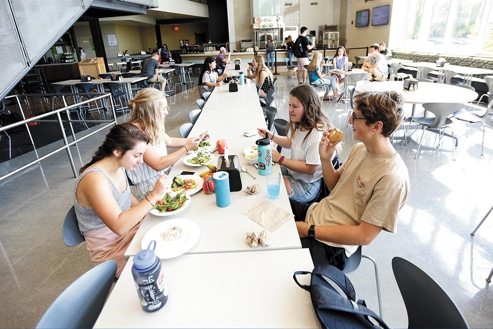 A Gonzaga University dining hall. - YOUNG KWAK PHOTO
