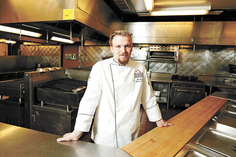 SCC grad Jonathan Seaman-Cwik is heading off to cook in Copenhagen. - YOUNG KWAK PHOTO