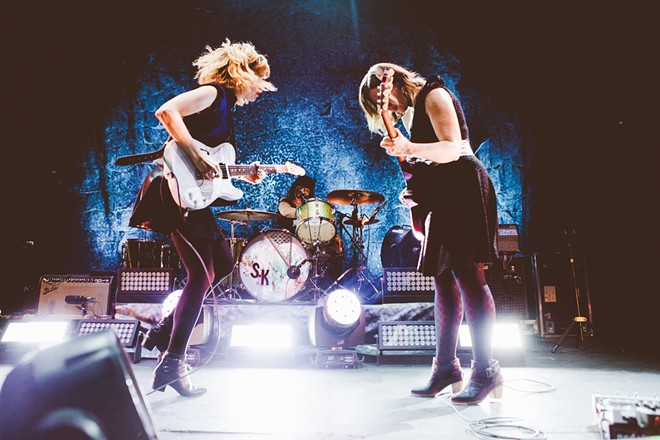 Sleater-Kinney return to Spokane to kick off their latest tour on Oct. 8. - JASON WILLIAMSON