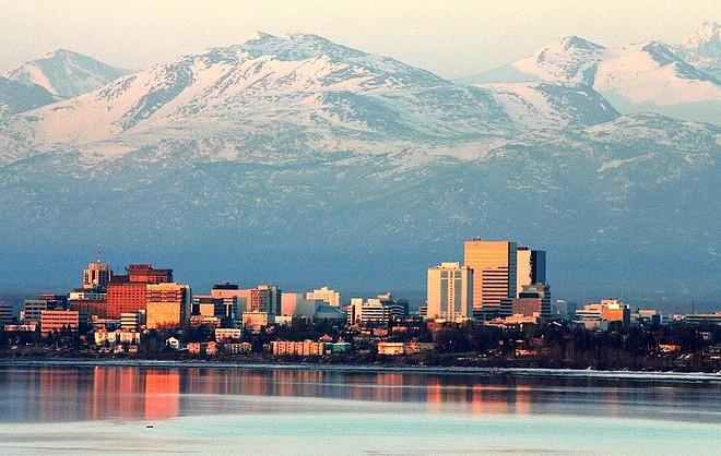 Anchorage, Alaska - FRANK KOLVACHEK PHOTO