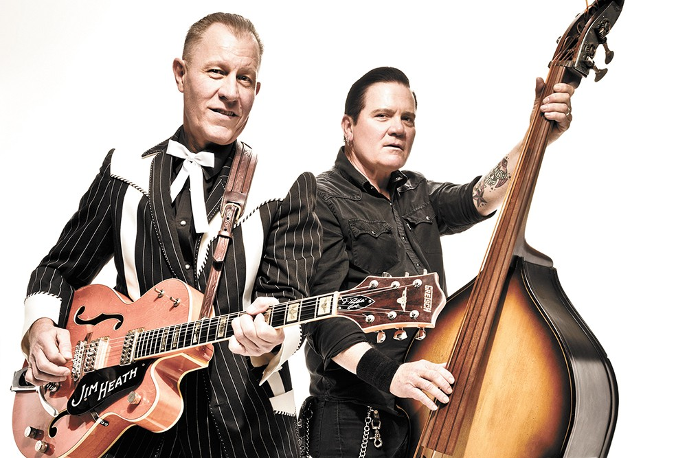 Rev. Horton Heat hits Spokane next Thursday. - THOM JACKSON PHOTO