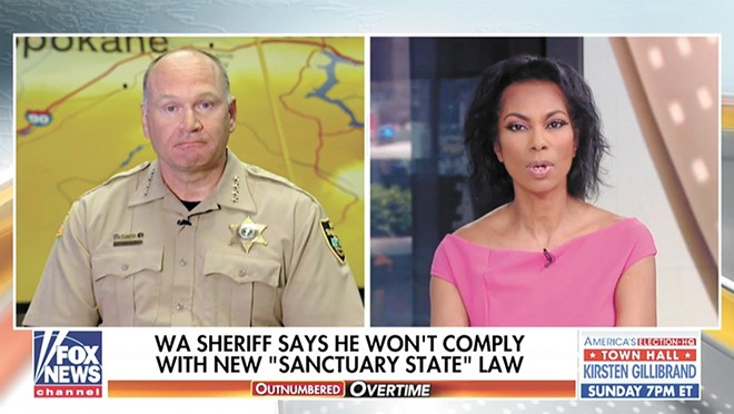 Sheriff Ozzie gets national attention on Fox.