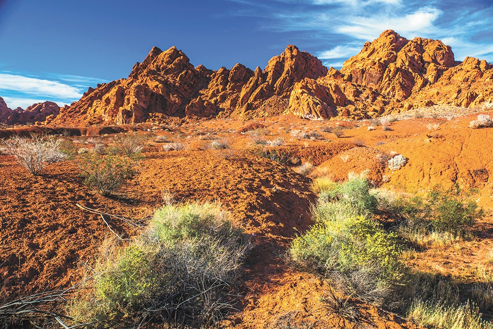 Outside of Vegas, check out the Valley for Fire State Park. - MURRAY FOUBISTER PHOTO