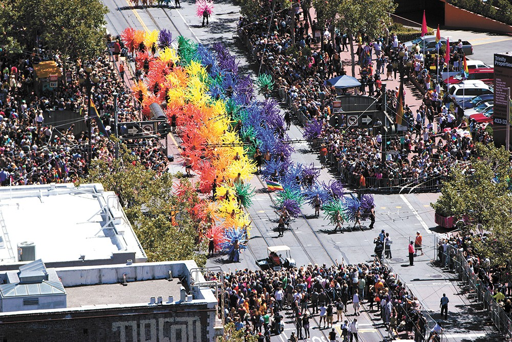 See Pride in its full glory in San Francisco. - VICTOR GRIGAS PHOTO