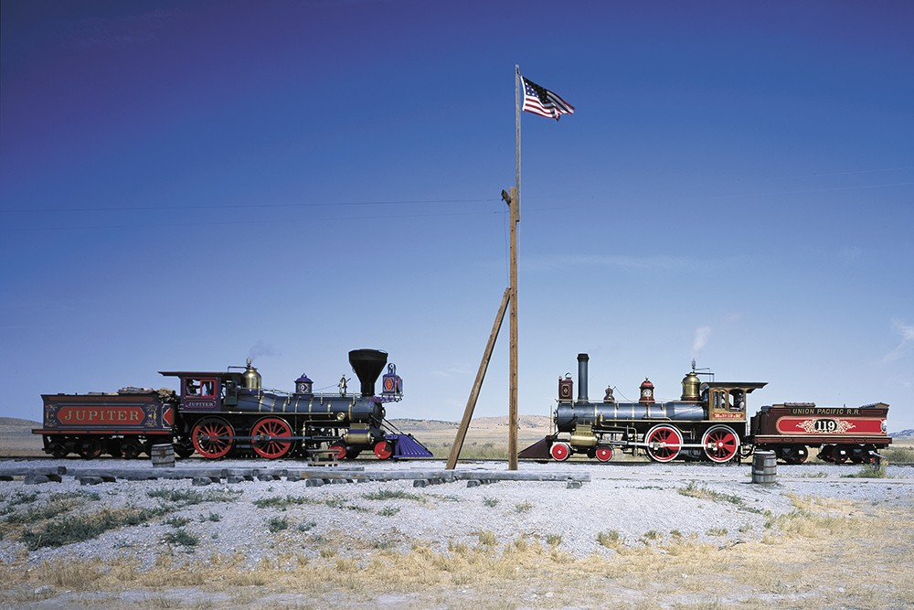 History buffs: Consider a visit to the Golden Spike National Historic Site in Utah. - LIBRARY OF CONGRESS PHOTO