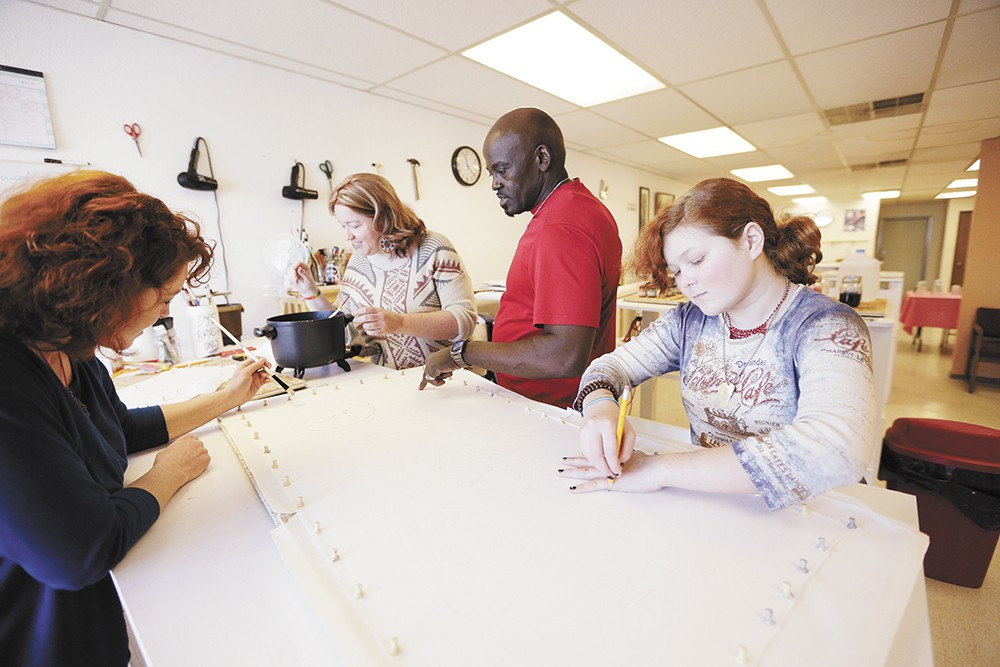 Learn the art of batik from Nicholas Sironka on July 13 at the MAC. - YOUNG KWAK PHOTO