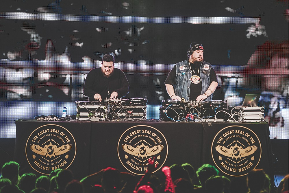 A Tribe Called Red comes to Lucky You Lounge on July 22. - TIMOTHY NGUYEN PHOTOGRAPHY