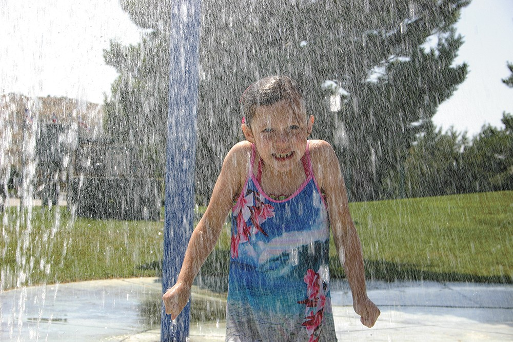You can find more than 20 splash pads from Spokane to Coeur d'Alene — each a little different.
