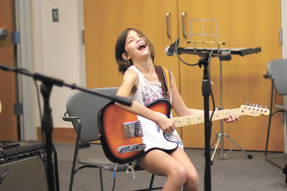 Polish your mad skills at Spark Central's Girls Rock Lab.