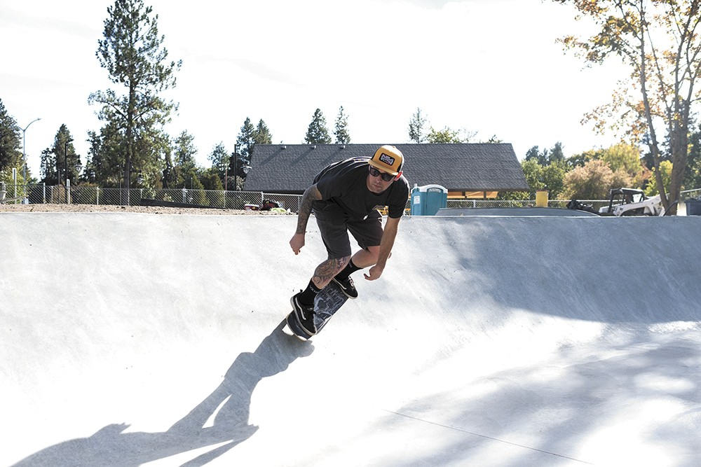 Coeur d'Alene's redesigned skate park includes features for riders of all skill levels.