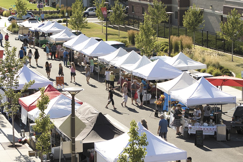 Check out Kendall Yards Night Market on Wednesdays 5-9 pm. - YOUNG KWAK PHOTO