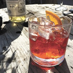 Mix your own negroni to get in the right spirit.