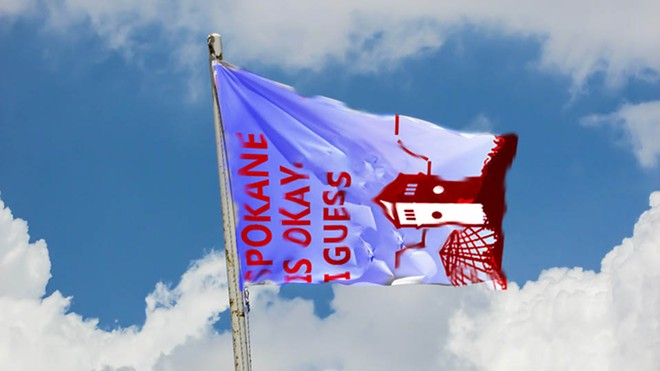 For example, this flag would show our intense civic pride. - DANIEL WALTERS PHOTO ILLUSTRATION