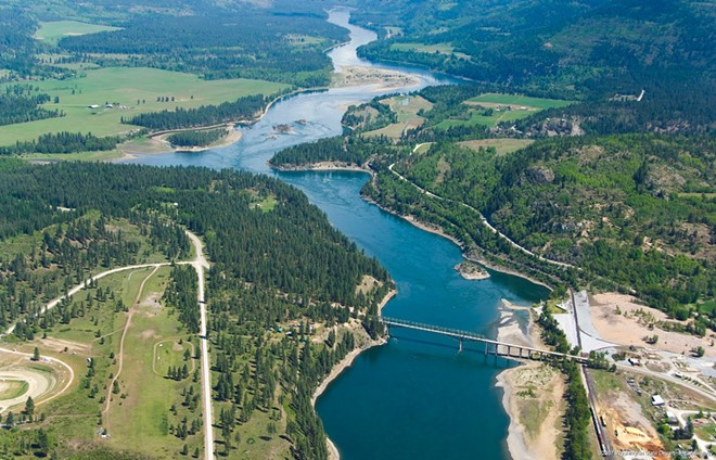 The town of Northport on the Columbia River is near the Canadian border and has been contaminated by toxic releases from the Teck Metals smelter in Trail, British Columbia, according to Ecology. - DEPARTMENT OF ECOLOGY PHOTO