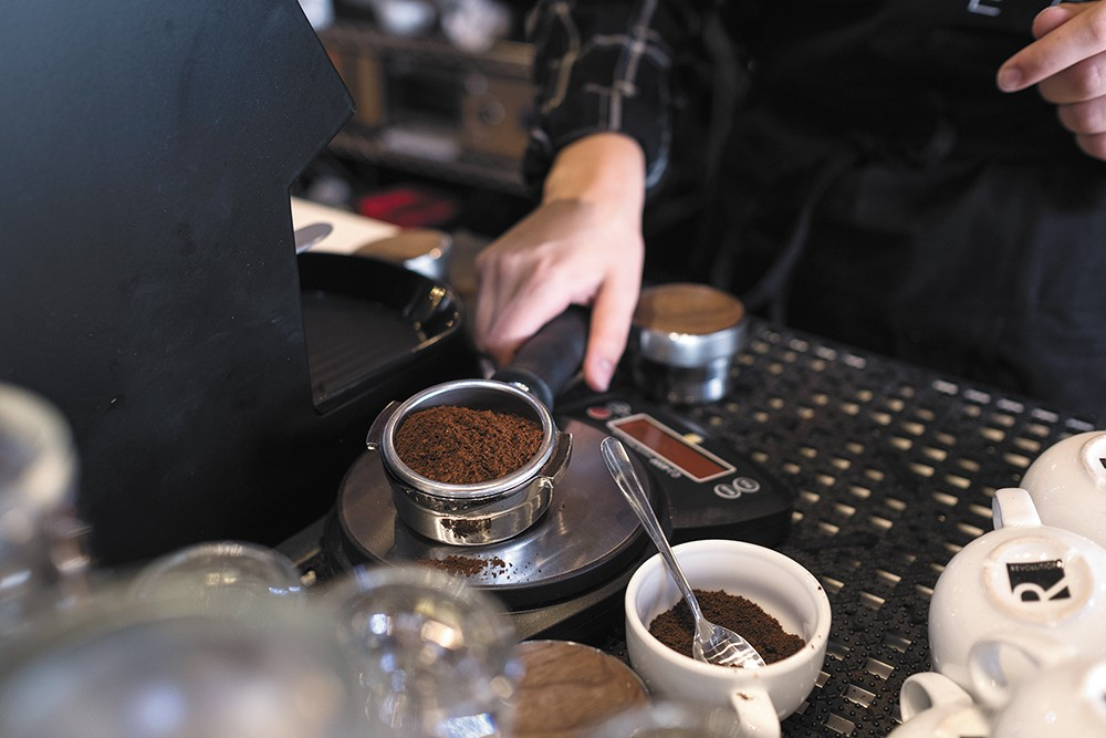 Roast House is serving a 2019 Cup of Excellence coffee. - HECTOR AIZON