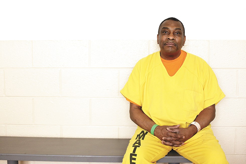 Tony Williams at Geiger Corrections Center in June 2019. - YOUNG KWAK