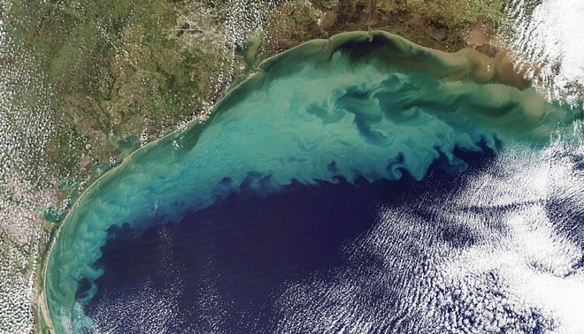 The Gulf of Mexico - NASA PHOTO