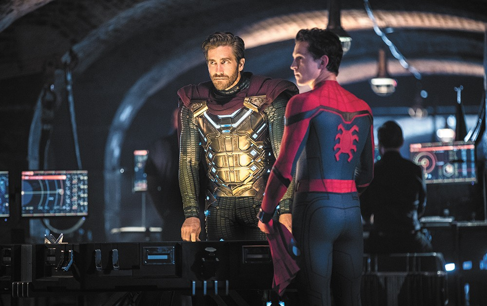 Jake Gyllenhaal and Tom Holland have a charisma competition in Spider-Man: Far from Home.